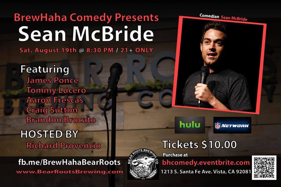 BrewHaha Comedy Night